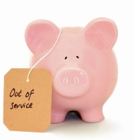 In need of servicing - credit crunch theme